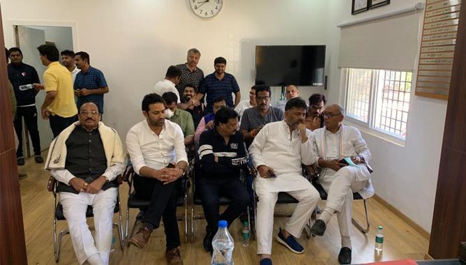 Two Congress leaders arrested after Digvijay Singh's arrest,www.thekeralatimes.com