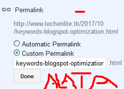 keywords-blogspot-optimization