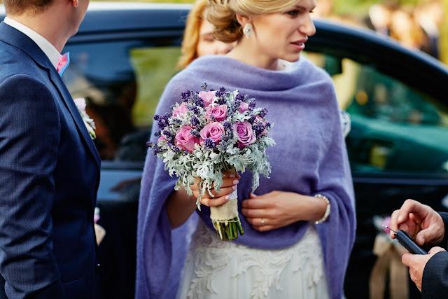 Ślubny szal