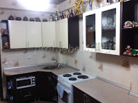 Кухонный гарнитур  в комнату с колоннами