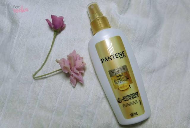 Pantene micro blindagem pantene pro V tratamento antioxidante para o cabelo