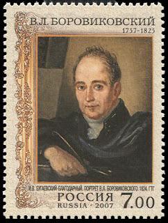 Vladimir Borovikovsky, Ukrainian-Russian painter (d. 1825)