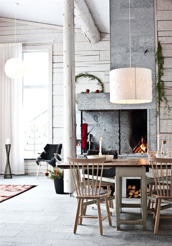Scandinavian decor christmas