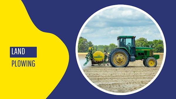 Land plowing