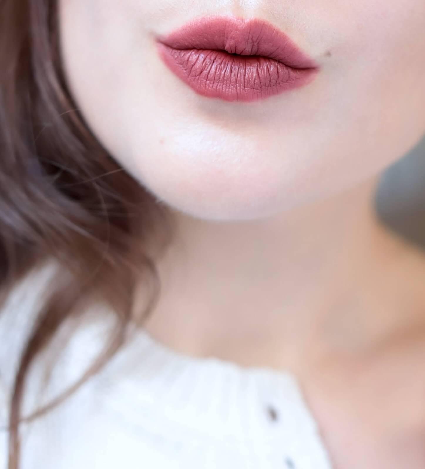 Pat McGrath Mattetrance Lipstick Flesh 3 swatch