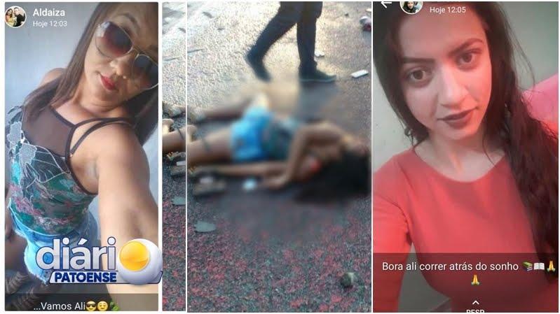FOTOS: Acidente na Serra de Teixeira deixa duas mulheres mortas