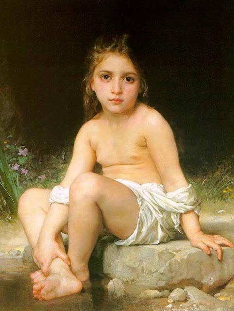 Адольф Вильям Бугро - Дитя у воды (1886)