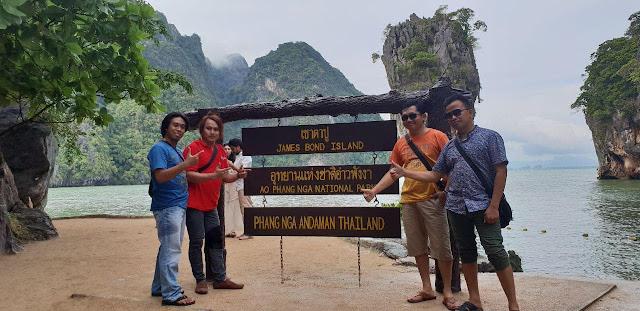 Uniknya Pulau Khao Phing Kan, Tempat Shotting Film James Bond