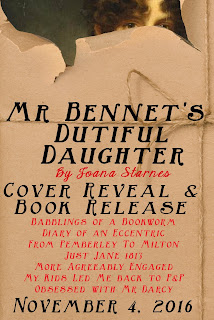Mr Bennet's Dutiful Daughter by Joana Starnes - Cover Reveal
