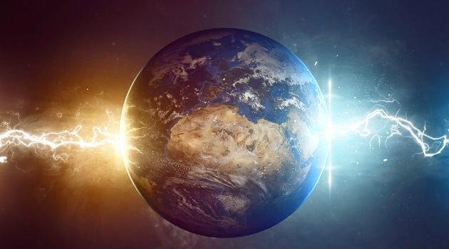 Image result for imagem da terra com energias cristalinas