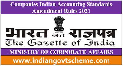Indian Accounting Standards Amendment