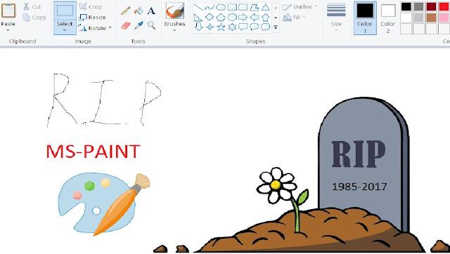 RIP MS Paint