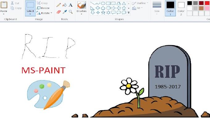 MS Paint Telah Dihentikan Pembangunannya