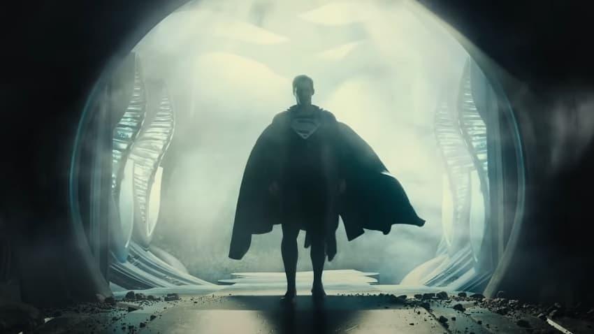 Супермен в чёрном костюме в Snyder Cut - вышел трейлер режиссёрской «Лиги справедливости»