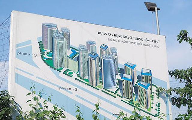 Dự án xây dựng nhà ở Sông Hồng City