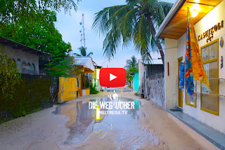 Malediven Unwetter, Arkadijs Weltreise, Die Wegsucher, WELTREISE.TV