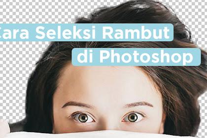Cara Seleksi Rambut di Photoshop Agar Terlihat Rapih