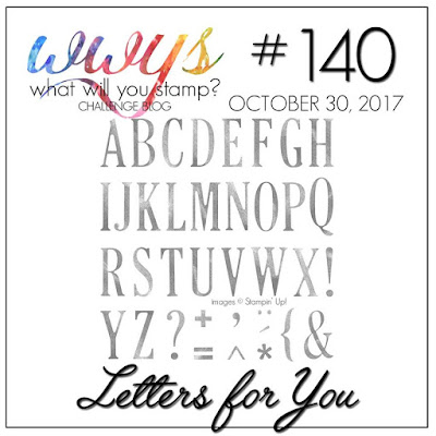 Letters for You by Stampin Up