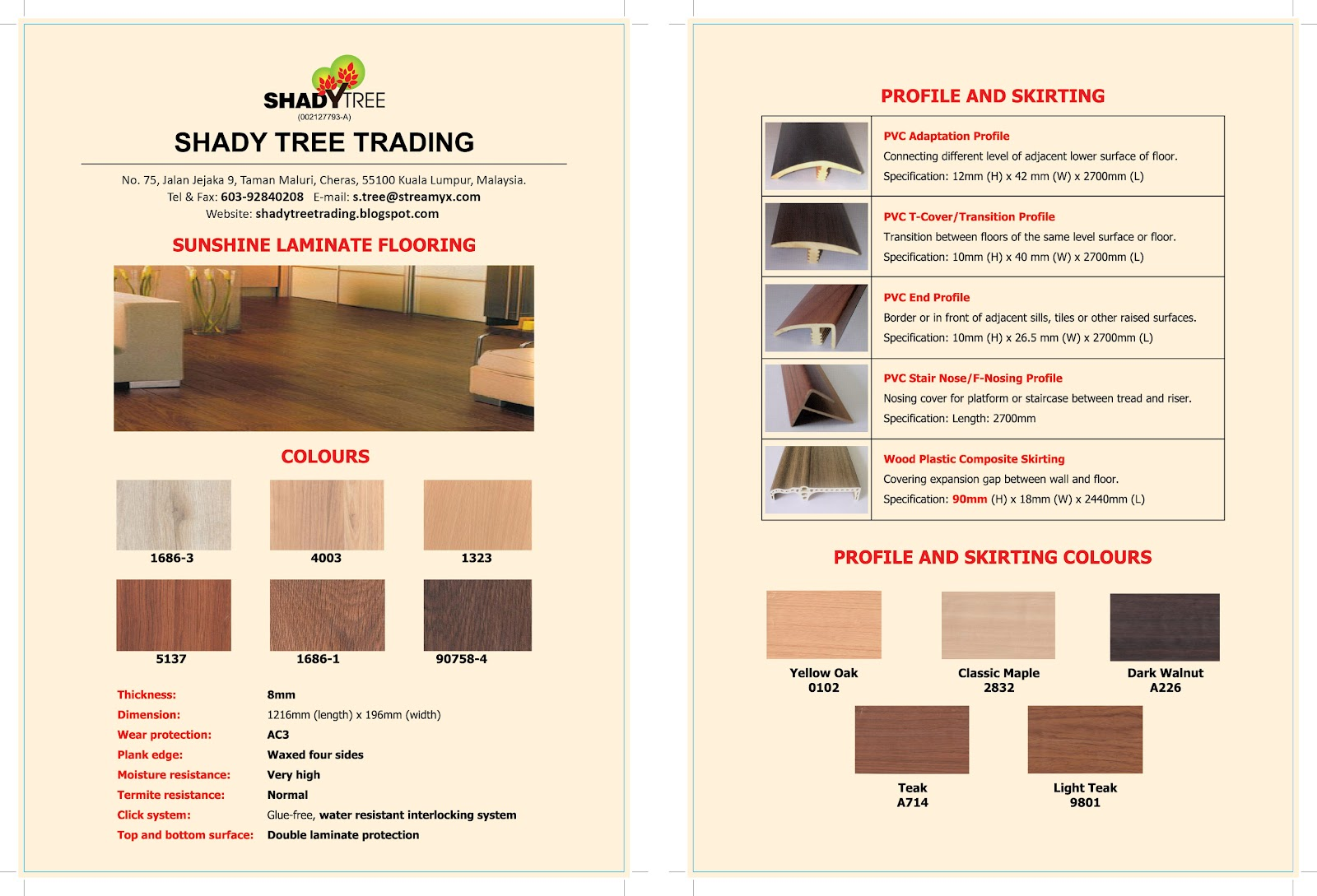 Ihomefurnishing Laminated Flooring Promotion
