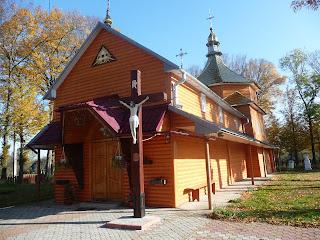 Задеревач. Львовская обл. Церковь святого Иоанна Крестителя. 1808 г. (1926 г.)