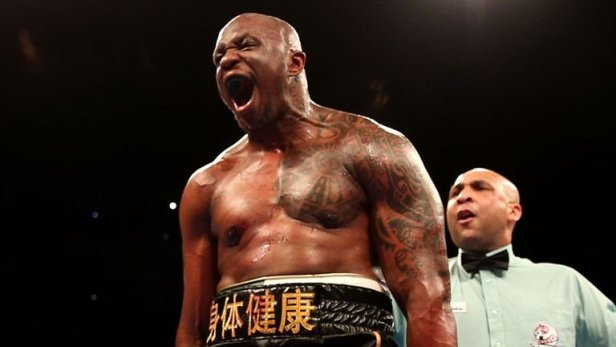 Dillian Whyte WBC interim World Champion
