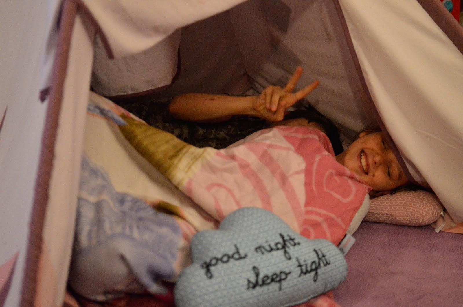 Houseology Sebra Wigwam Playtent tipi kids home