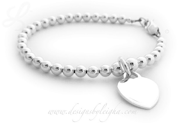 Tiffany Inspired Heart bracelet is all .925 sterling silver.