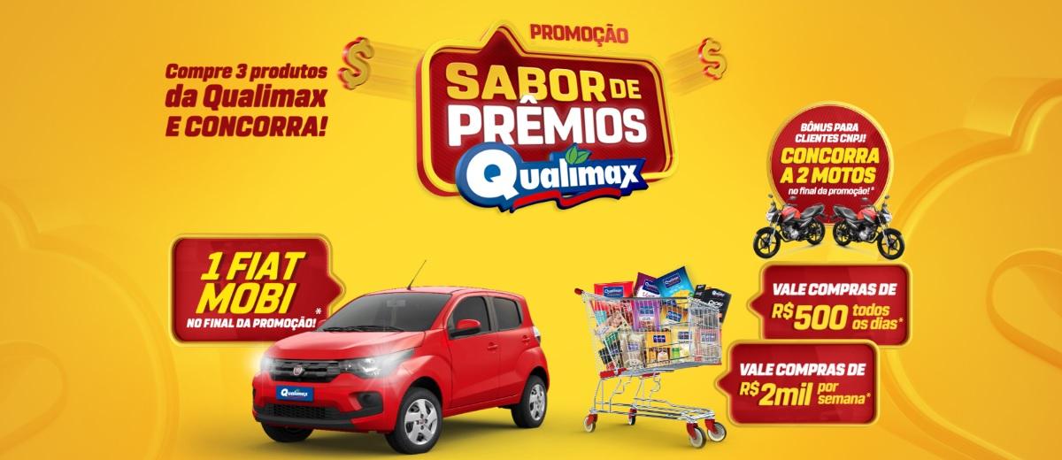 Promoção Sabor de Prêmios Qualimax 2021