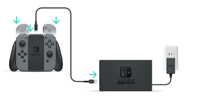 Joy Con Charge Time