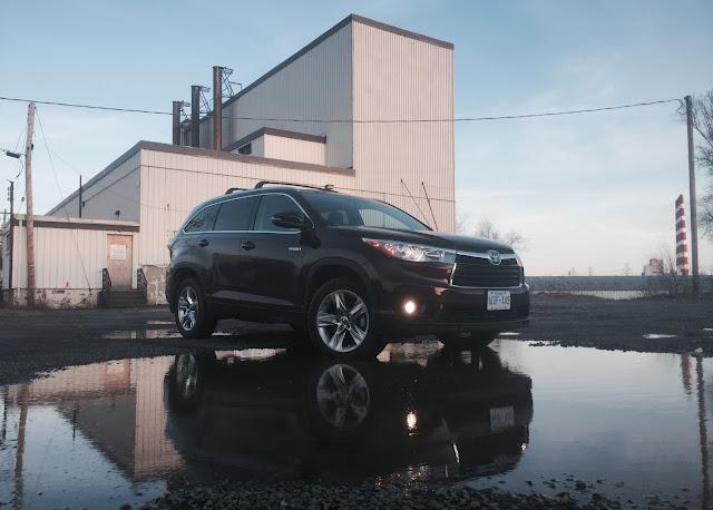 2016 Toyota Highlander Hybrid Limited front