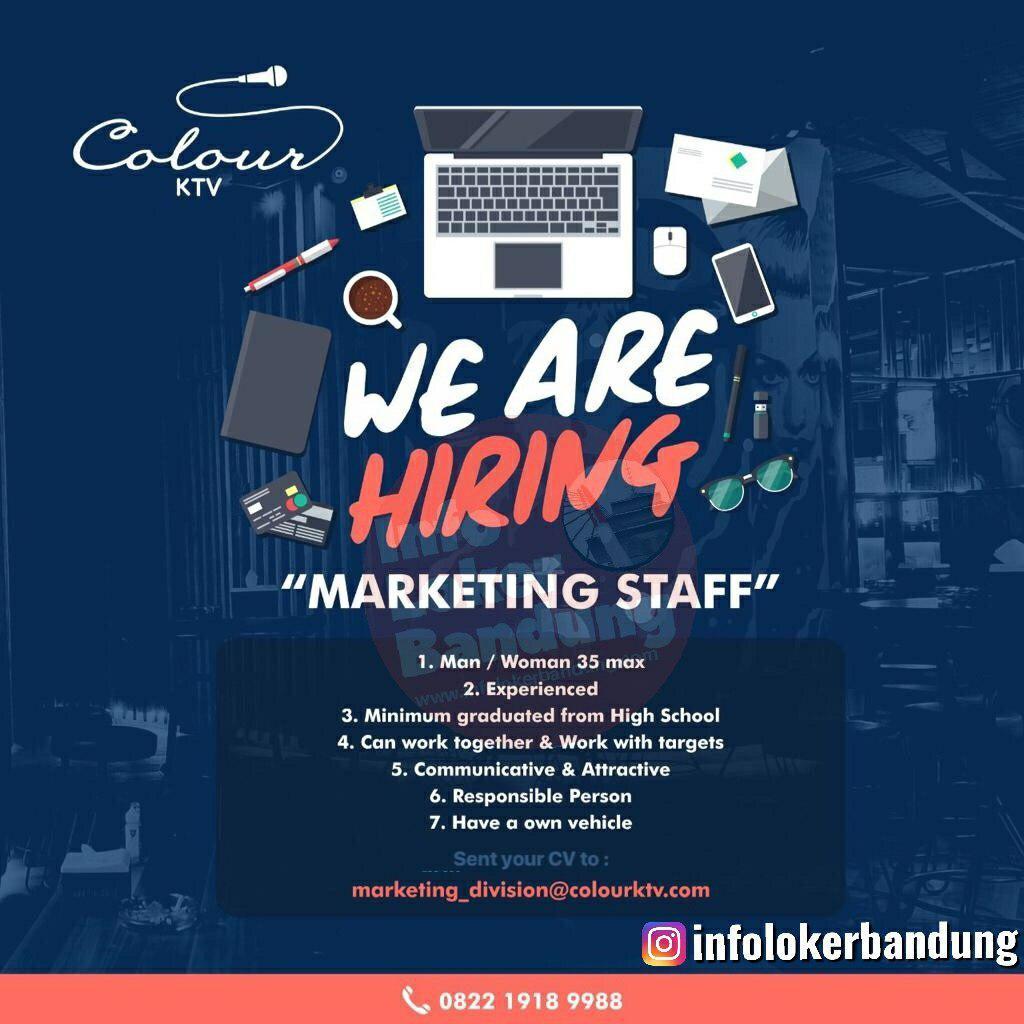 Lowongan Kerja Marketing Staff Colourktv Bandung Oktober 2019