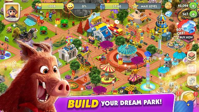 Download Wonder Park Magic Rides & Attractions Mod Apk
