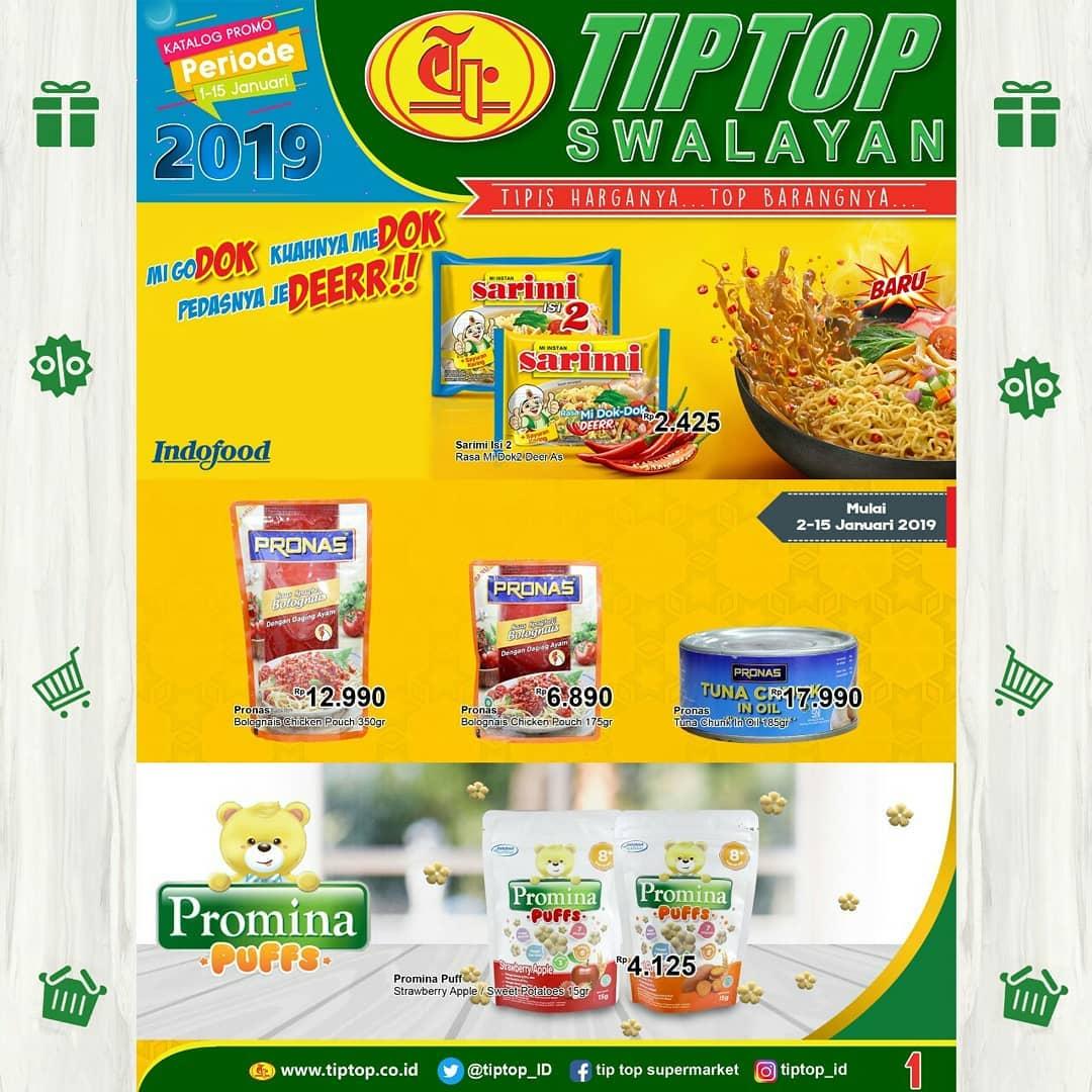 #TipTop - Promo Katalog Periode 01 -  15 Januari 2019