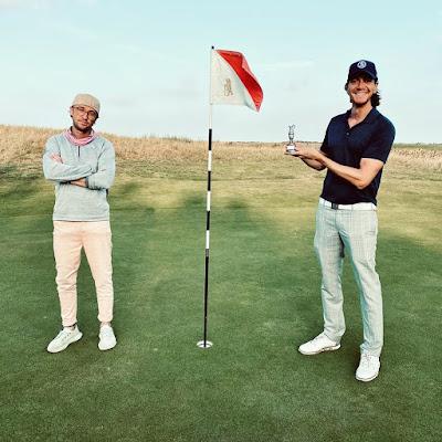 Tom Felton e James Phelps se reencontram para uma partida de golfe | Ordem da Fênix Brasileira