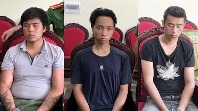Bắt 3 thanh niên Trung Quốc nghi giết tài xế, cướp taxi ở Bắc Giang và phi tang ở Phú Thọ rồi trốn lên Sơn La