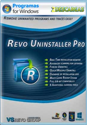 Descargar Revo Uninstaller Pro full con serial crack mega y google drive /