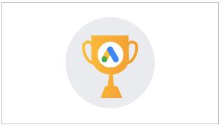 logo de examen de google ads para certificacion