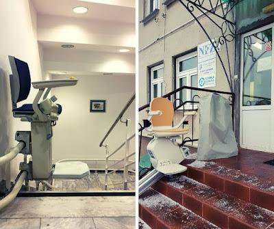 Krzesełka schodowe - Otolift i Acorn