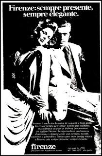 propaganda tecidos Firenze - 1978; moda anos 70; propaganda anos 70; história da década de 70; reclames anos 70; brazil in the 70s; Oswaldo Hernandez