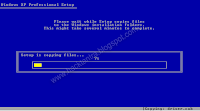 Windows XP installation step by step explanation with screenshots