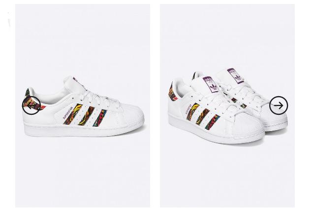 Adidasi dama adidas Originals Superstar W albi pret mic online
