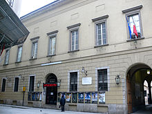 The Piccolo Teatro Grassi in Milan,  founded in 1947