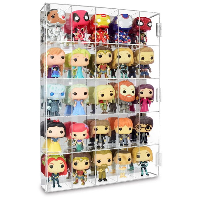 Acrylic Display Rack for Funko Pop Figure Display from Nile Corp