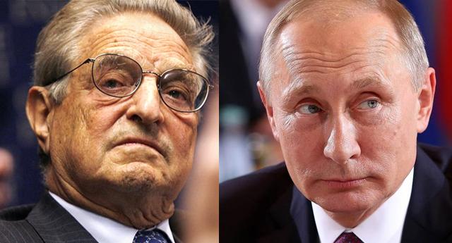 George Soros y el complot para defenestrar a Putin