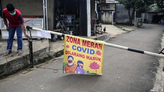 Makin Sedikit, Kini Tersisa 3 RT Zona Merah di Jakarta
