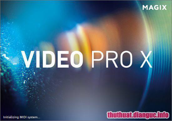 Download MAGIX Video Pro X11 17.0.1.27 Full Crack