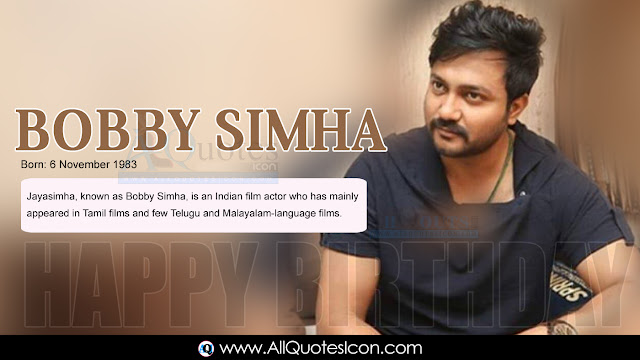Telugu-Bobby-Simha-Birthday-Telugu-quotes-Whatsapp-images-Facebook-pictures-wallpapers-photos-greetings-Thought-Sayings-free