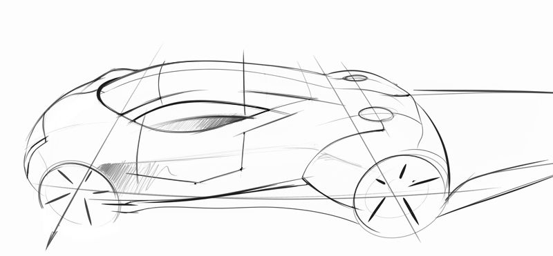 Auto: Car sketching
