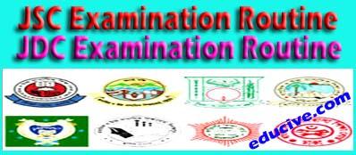 JSC Exam routine 2016, JDC Exam routine 2016