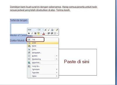 2 Cara Menaruh Tanda Tangan Di Microsoft Word